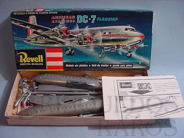 Brinquedo antigo Avião McDonnell Douglas DC-7 Flagship American Airlines