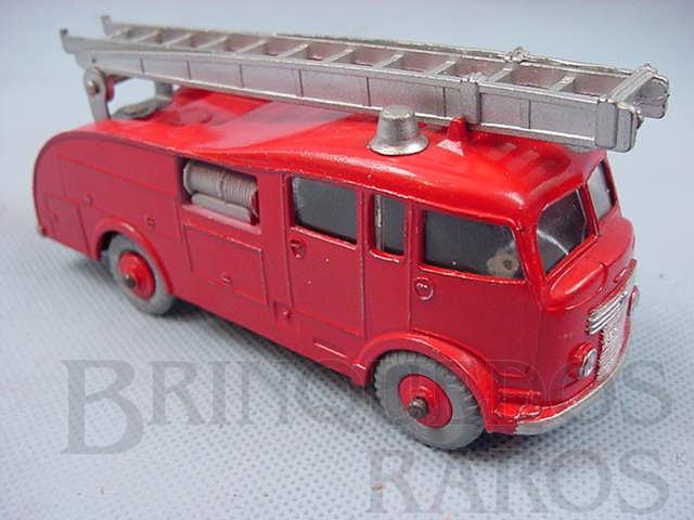 Brinquedo antigo Caminhão Fire Engine com escadas