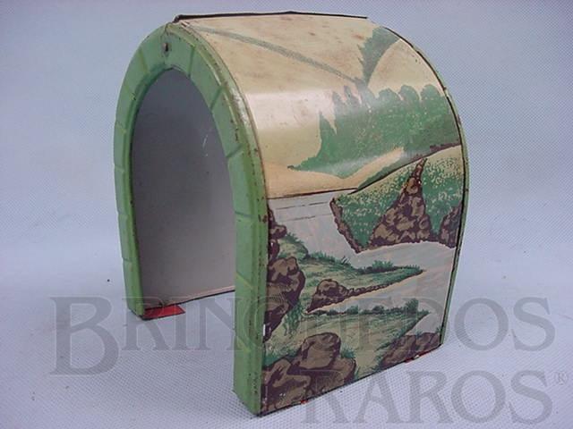Brinquedo antigo Túnel dobrável no meio Década de 1950