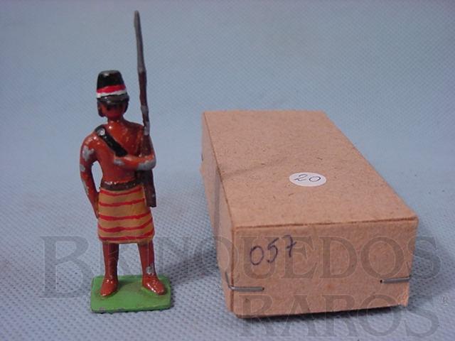 Brinquedo antigo Soldado de Artilharia Paraguaia, Guerra do Paraguai, 1865