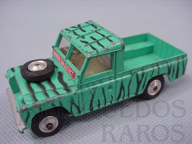 Brinquedo antigo Land Rover 109 WB Daktary Set sem as figuras