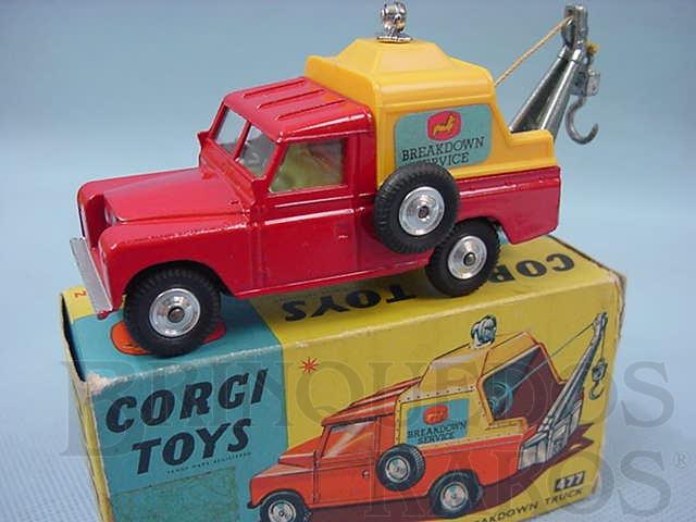 Brinquedo antigo Land Rover Breakdown Truck Ano 1974