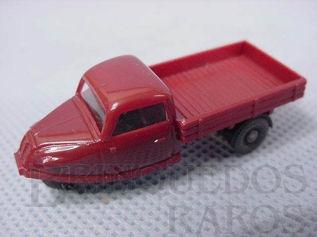 Brinquedo antigo Caminhonete Goliaht com tres rodas escala HO