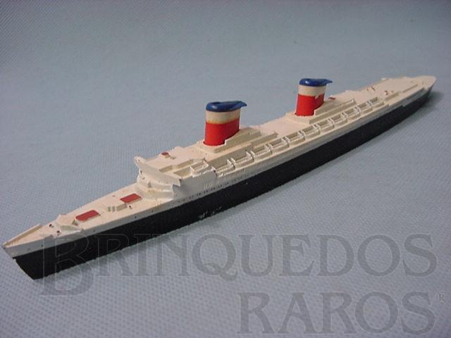 Brinquedo antigo Navio SS United States Waterline Models