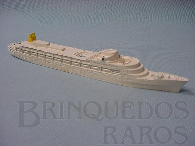 Brinquedo antigo Navio RMS Camberra Waterline Models Década de 1960