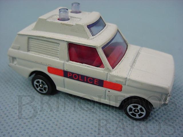 Brinquedo antigo Range Rover Police Corgi Jr
