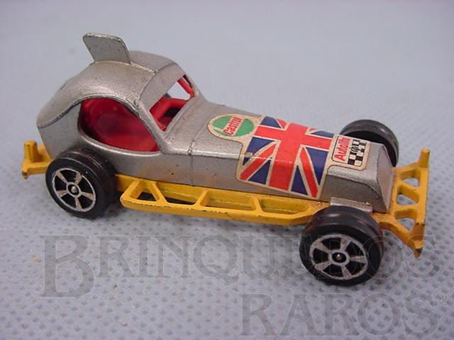 Brinquedo antigo Super Stock Car amarelo Corgi Jr Whizzwheels