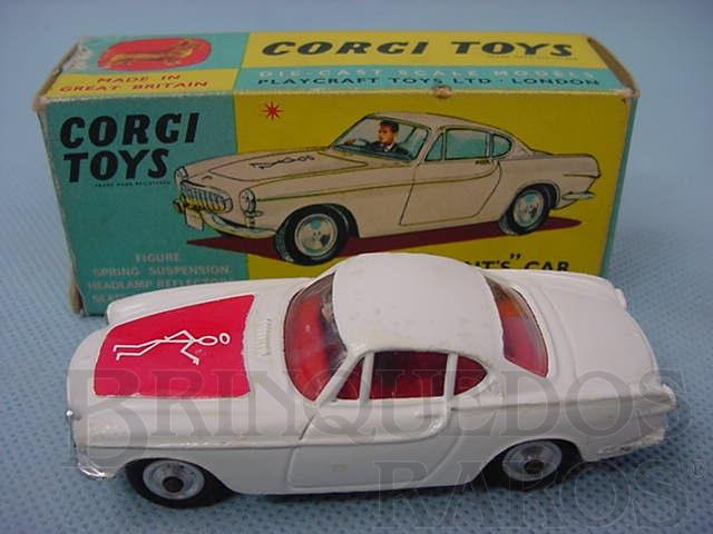 """Brinquedo antigo The """"Saints"""" Car Volvo P 1.800"""