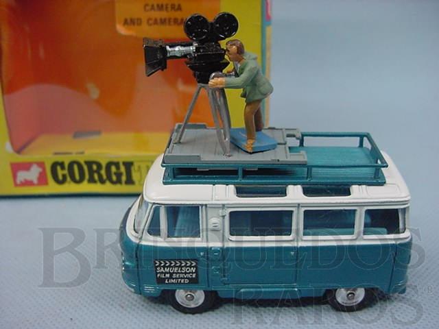 Brinquedo antigo Commer Mobile Camara Van