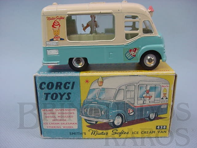 Brinquedo antigo Smiths Mister Softee Ice Cream Van