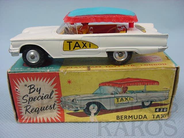 Brinquedo antigo Ford Thunderbird Bermuda Taxi Ano 1963