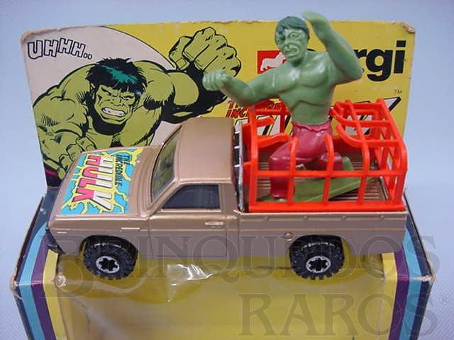 Brinquedo antigo Carro do Incrivel Hulk Incredible Hulk Década de 1970