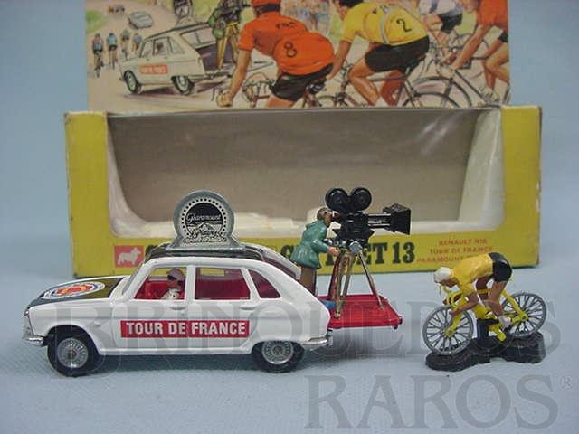 Brinquedo antigo Gift Set Renault R16 Tour de France, Paramount Film Unit