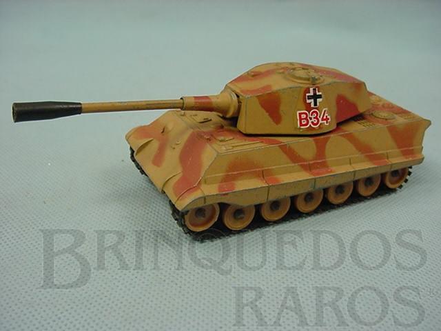 Brinquedo antigo Tanque de guerra King Tiger German Heavy Tank