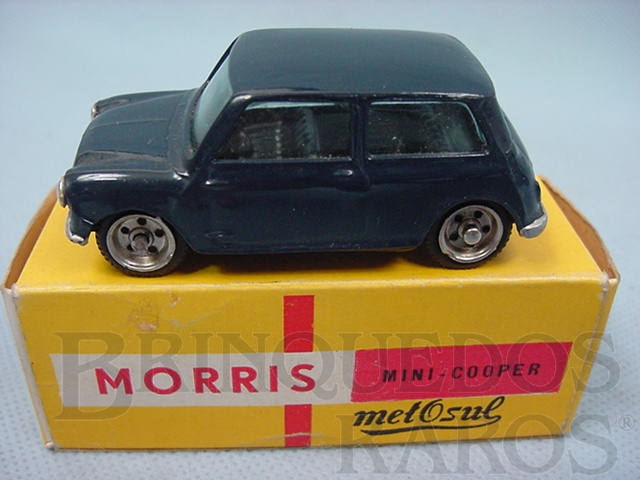 Brinquedo antigo Morris Mini Cooper