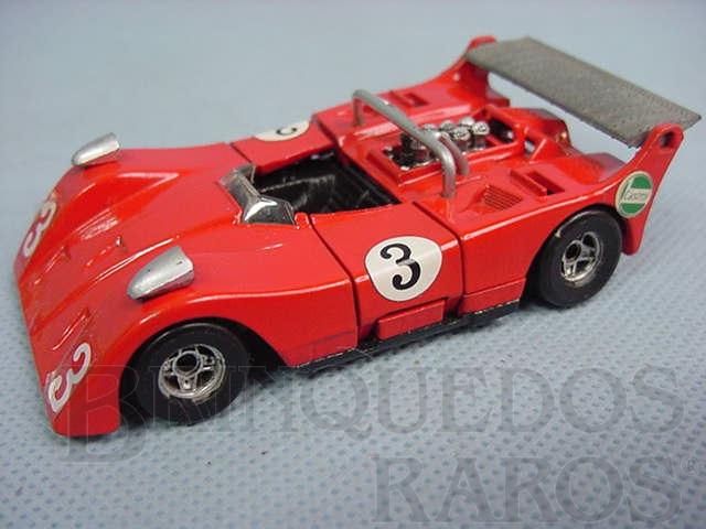 Brinquedo antigo March 717-1 Can Am Pollitoys Década de 1970