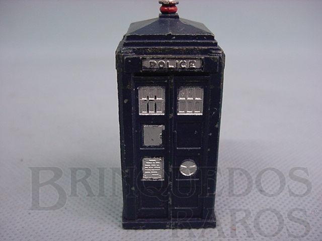 Brinquedo antigo Police Box Década de 1950