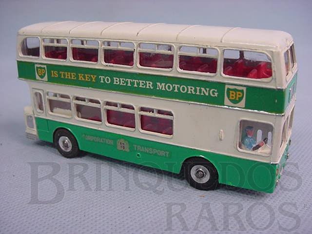 Brinquedo antigo Atlantean Bus BP Corporation Transport Ano 1963