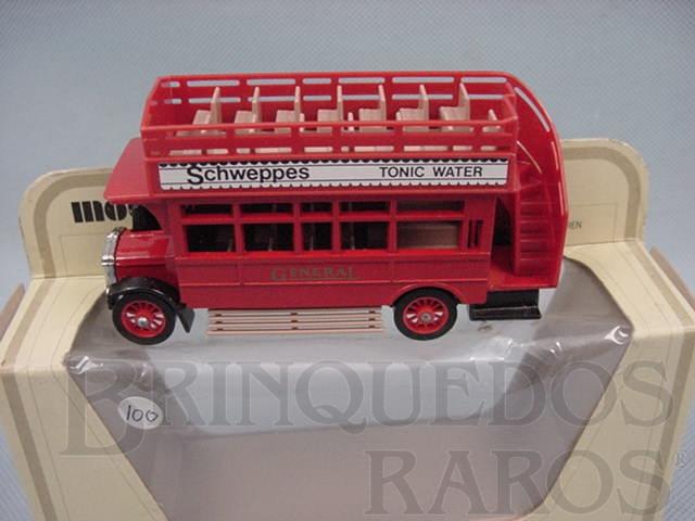 Brinquedo antigo 1922 A.E.C. S Type Omnibus Yesteryear