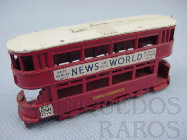 Brinquedo antigo 1907 London E Class Tram Car Yesteryear
