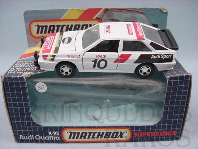 Brinquedo antigo Audi Quattro Super Kings