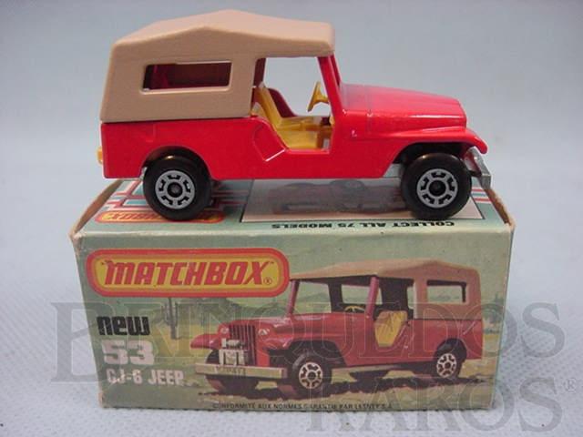 Brinquedo antigo CJ6 Jeep Willys Superfast