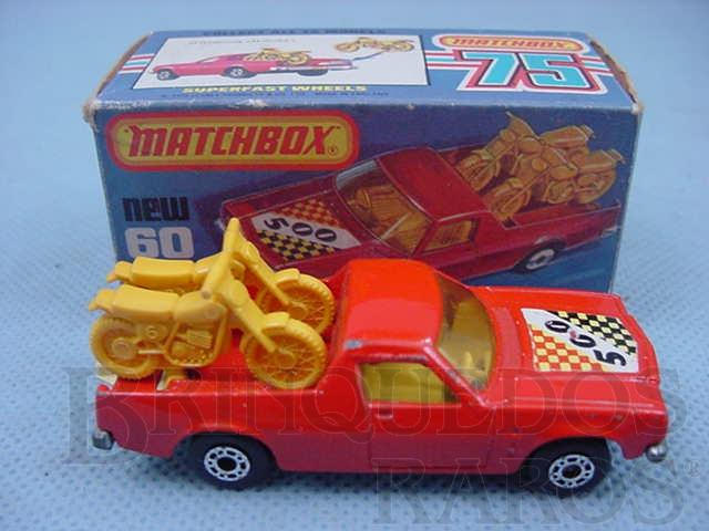 Brinquedo antigo Caminhonete Holden Pick Up Superfast vermelho