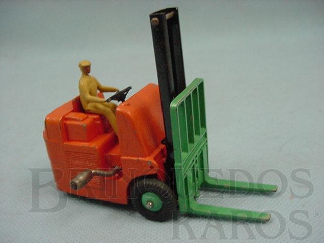 Brinquedo antigo Empilhadeira Coventri Climax Fork Lift Truck Ano 1949