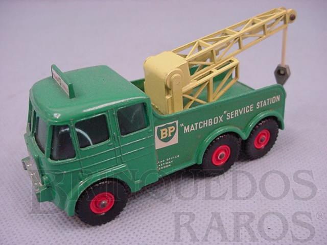 Brinquedo antigo Caminhão Guincho Heavy Breakdown Wreck Truck King Size