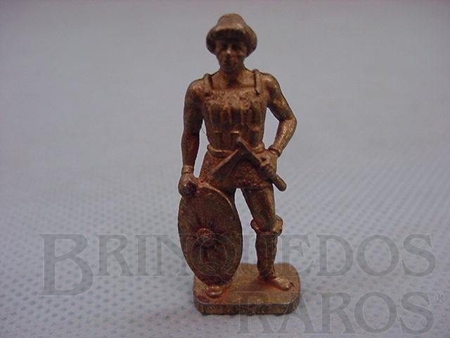 Brinquedo antigo Guerreiro Huno 4, Kinder Ovo