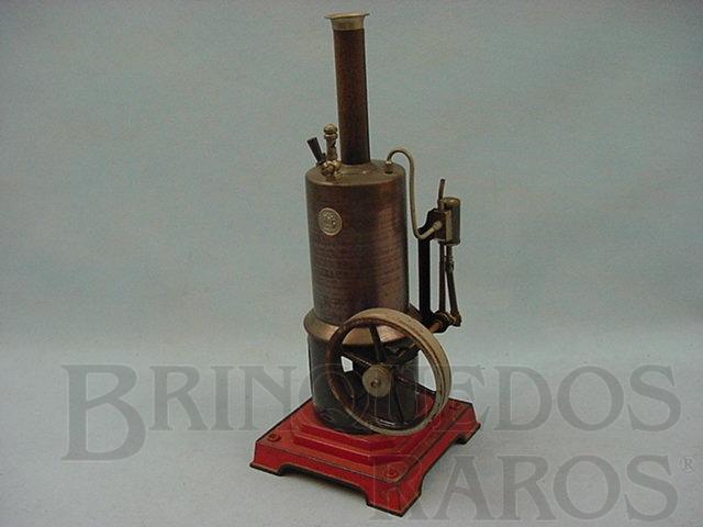 Brinquedo antigo Caldeira Vertical com cilindro simples Década de 1920