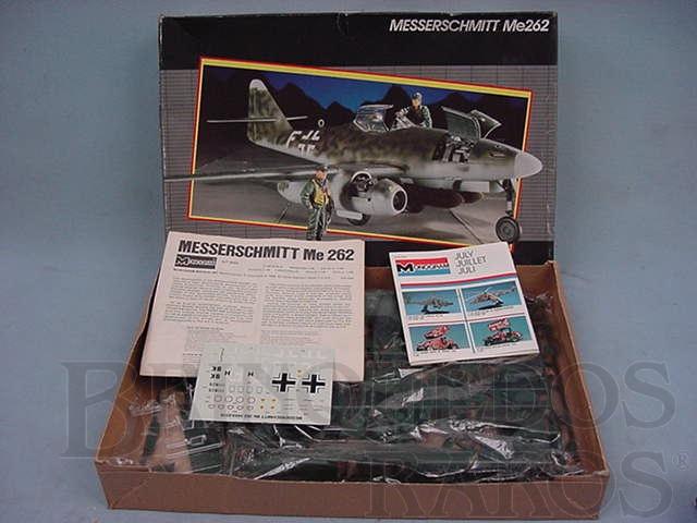 Brinquedo antigo Avião Messerschmitt Me 262