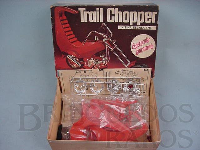 Brinquedo antigo Motociceta Trial Chopper