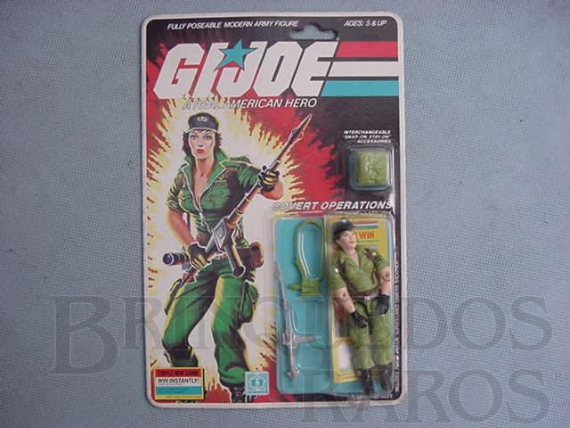 Brinquedo antigo Covert Operations Lady Jane completo lacrado Ano 1985
