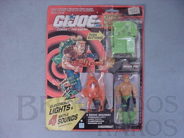 Brinquedo antigo Super Sonic Fighters Road Pig completo lacrado Ano 1990