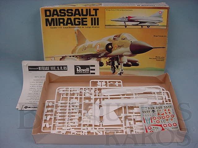 Brinquedo antigo Avião Dassault Mirage III caixa mole