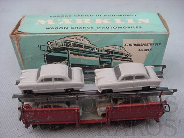 Brinquedo antigo Vagão transporte de Carros linha DB Década de 1960