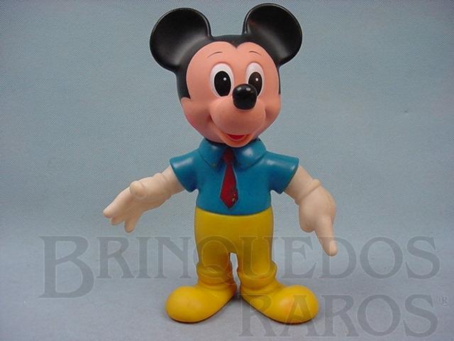 Brinquedo antigo Boneco do Mickey com 27,00 cm de altura Walt Disney Ano 1979