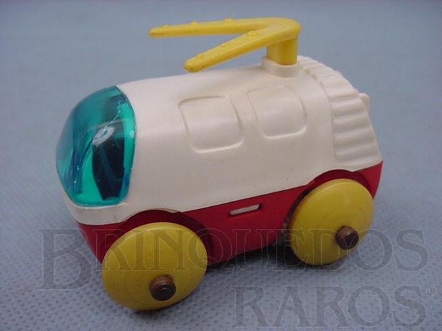 Brinquedo antigo Carrinho espacial para Estação Lunar