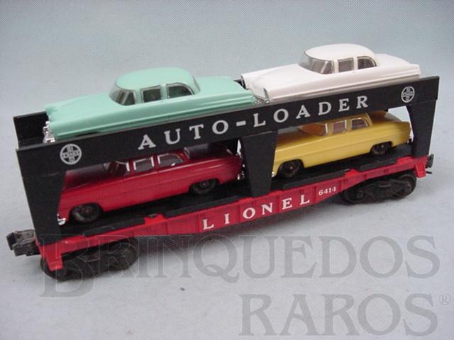 Brinquedo antigo Vagão 6414 Lionel Evans Auto Loader originals cars Ano 1955 a 1957