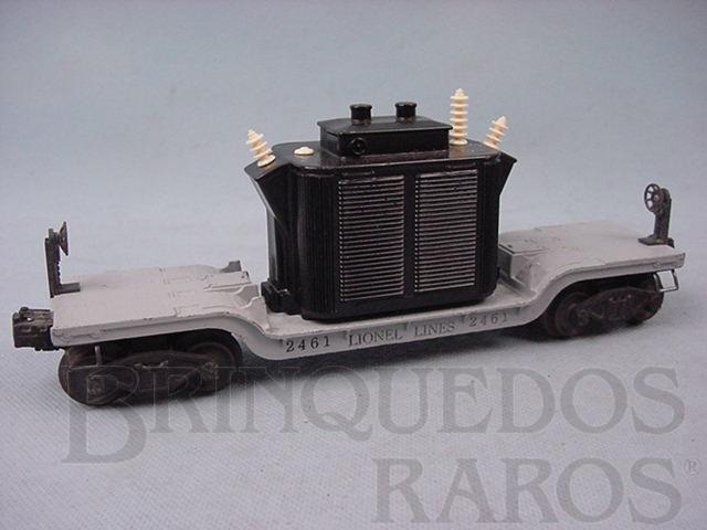Brinquedo antigo Vagão 2461 Transformer Car Ano 1947 a 1948