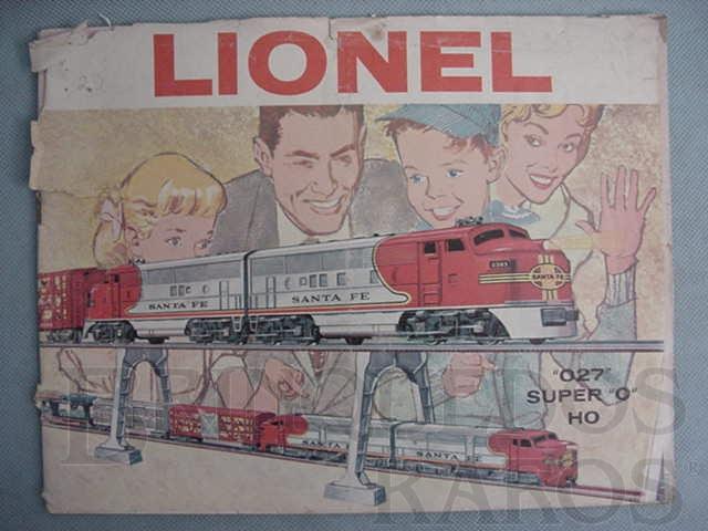 Brinquedo antigo Catálogo Lionel Ano 1960