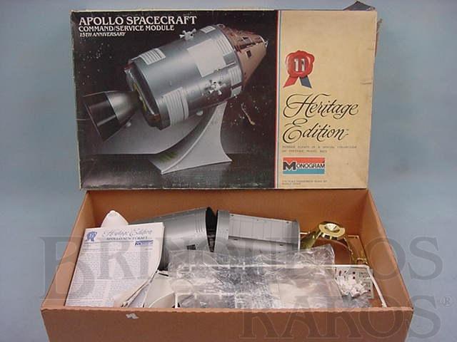 Brinquedo antigo Apollo Spacecraft módulo de comando e de serviço do Programa Apollo