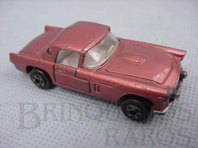 Brinquedo antigo Ford Thunderbird com inscrição P.Z.F. Manaus década de 1970