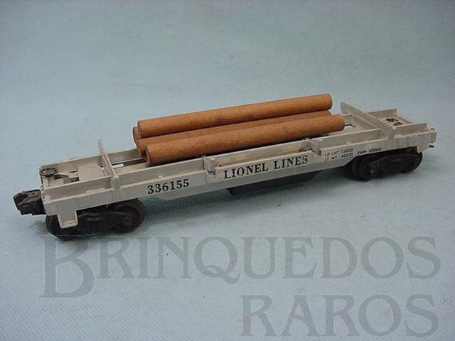 Brinquedo antigo Vagão 3361 Log Dump Ano 1955 a 1958