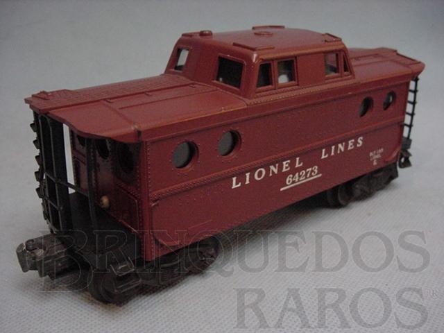 Brinquedo antigo Vagão 64273 Caboose Ano 1955 a 1960