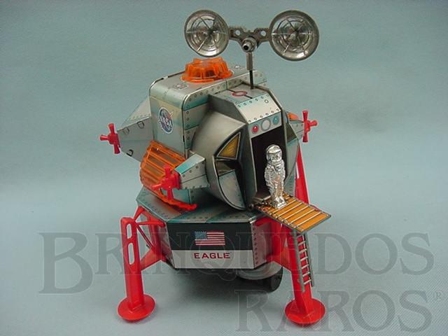 Brinquedo antigo Apollo 11 Eagle Lunar Module módulo Lunar Década de 1970