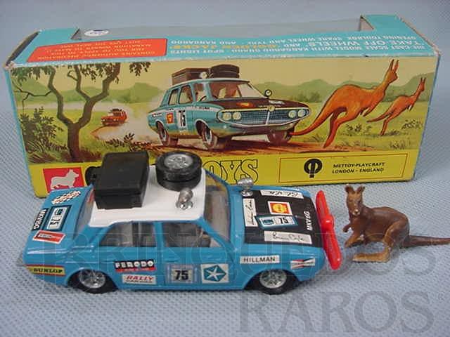 Brinquedo antigo Hillman Hunter with Kangaroo