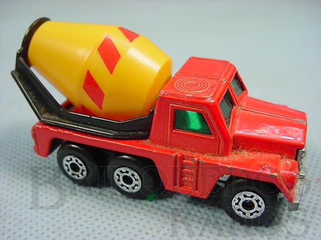 Brinquedo antigo Cement Truck Superfast Brazilian Matchbox Inbrima 1970
