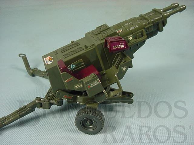 Brinquedo antigo Comandos em Ação Lança Raio Lazer Década de 1980